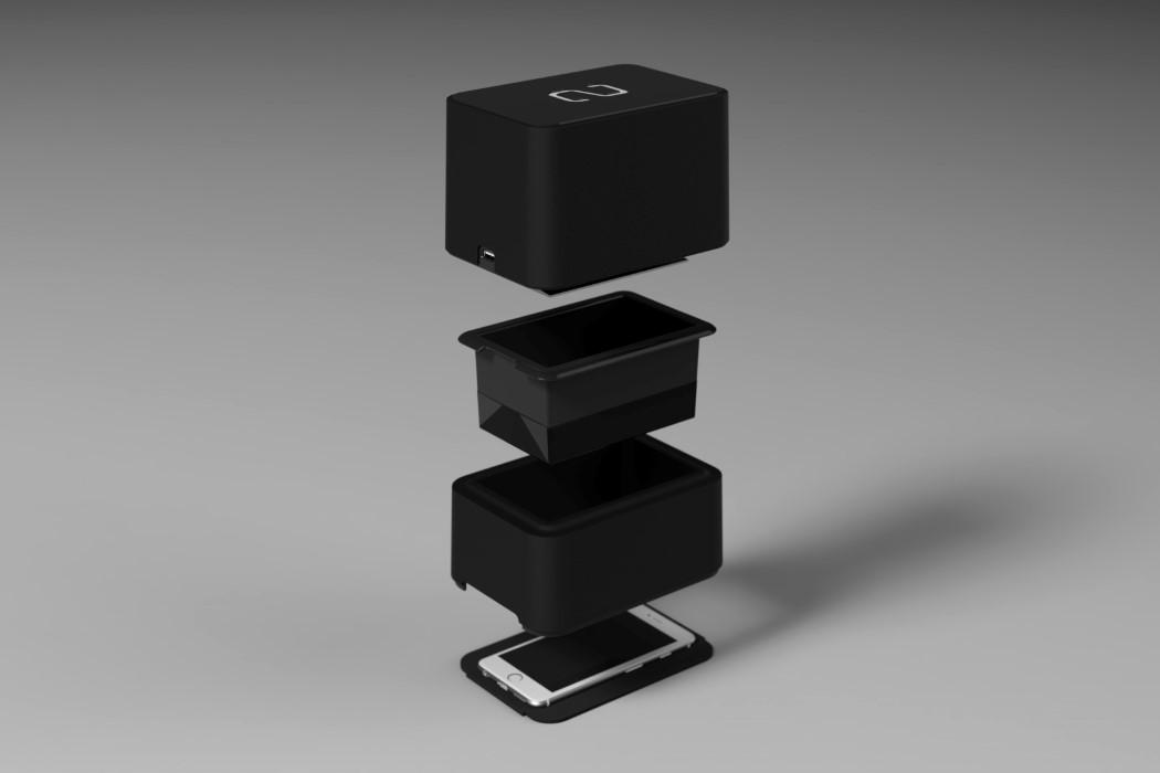 连接手机就可以3D打印机