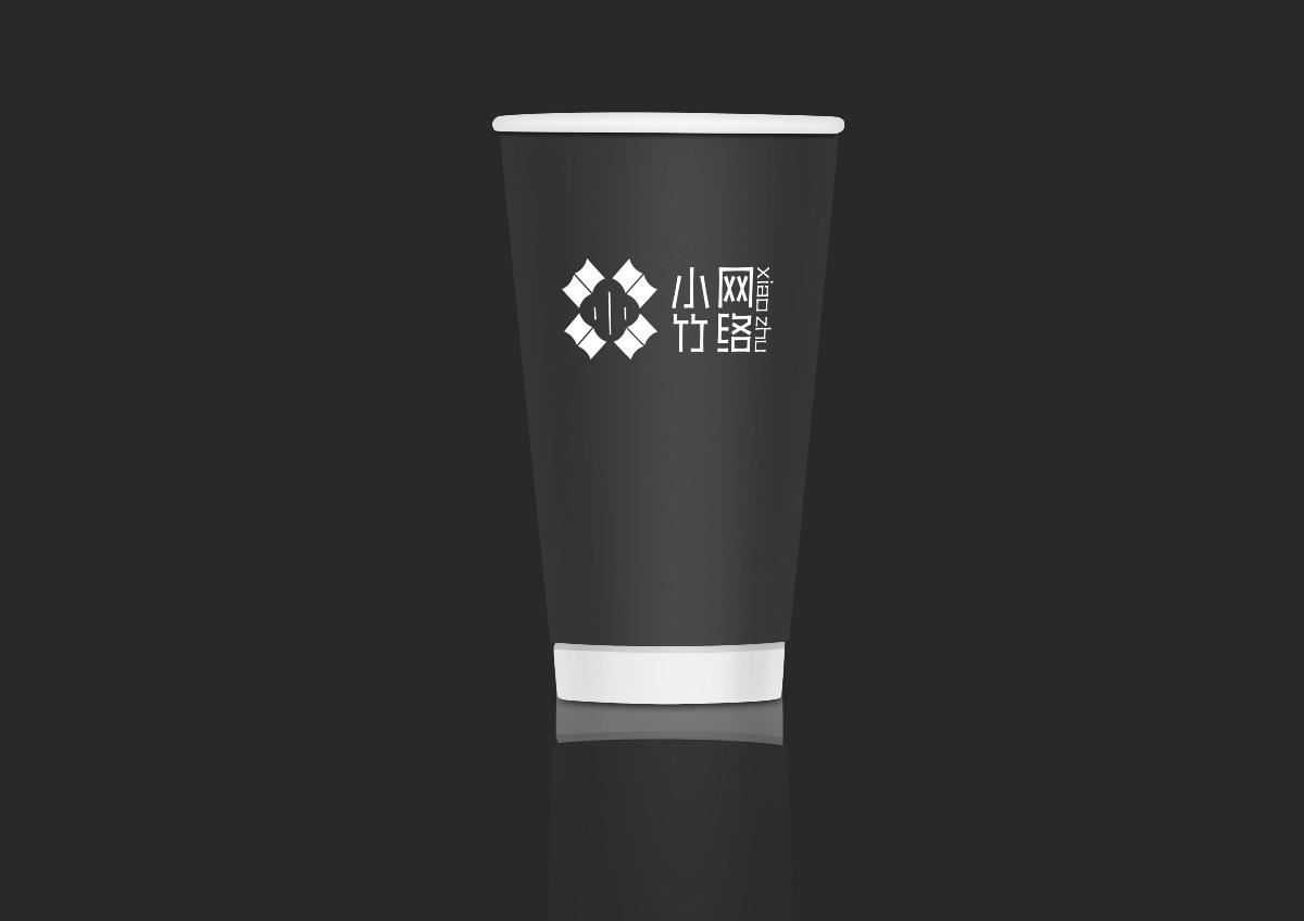 小竹网络logo设计