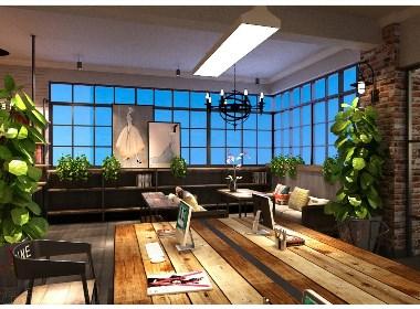 服装公司办公室设计|巴巴小镇服装公司办公室设计