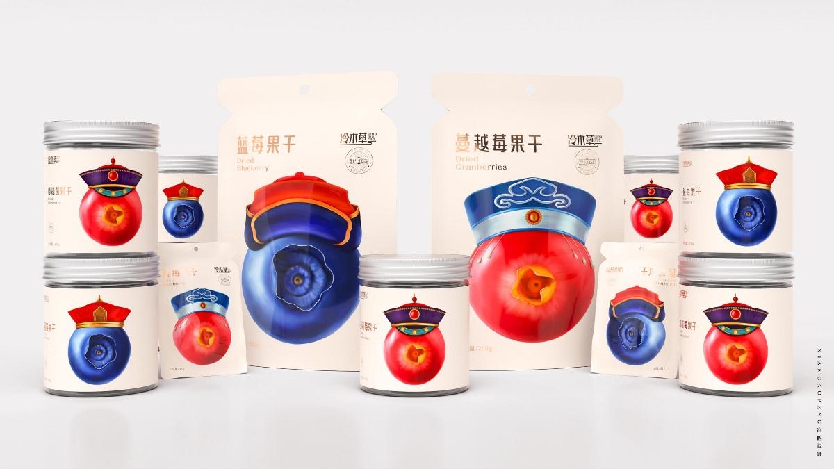 高鹏设计——水果果干食品包装设计