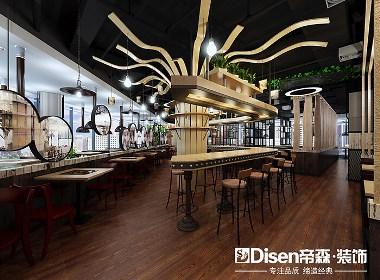 【吉姆烤肉】—成都餐厅装修设计/绵阳餐厅装修设计/资阳餐厅装修设计