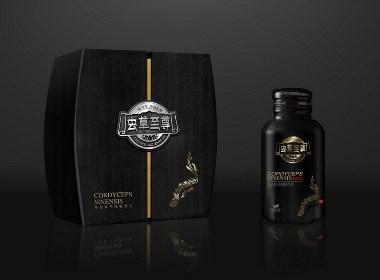 晨狮原创案例  丨 虫草至尊礼盒包装设计
