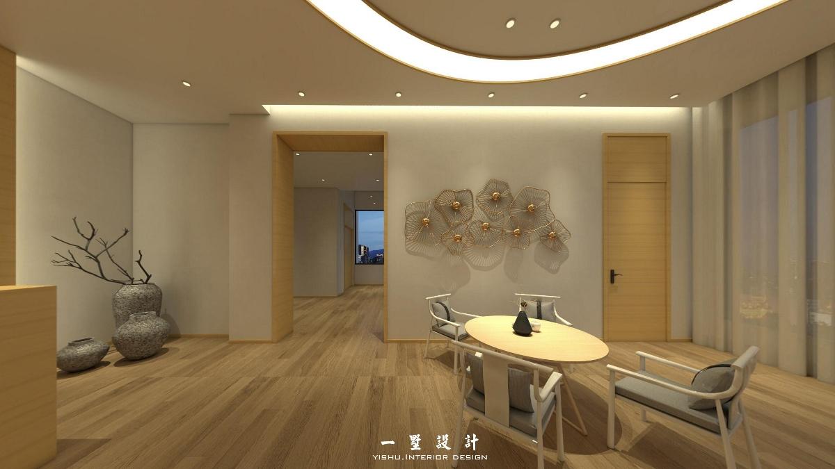 台州一墅装饰设计-瑜伽会馆设计