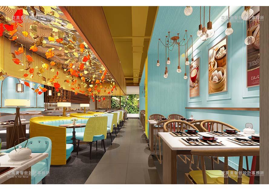 深圳 点心轩     花万里餐厅设计