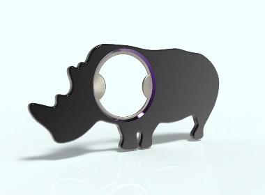 犀牛开瓶器啦
