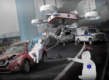 EMS医疗紧急无人机设备