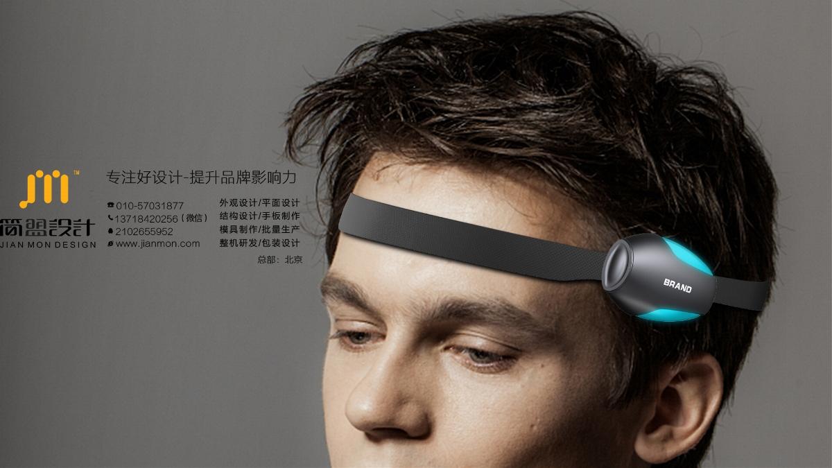 造型炫酷的一款脑电采集设备