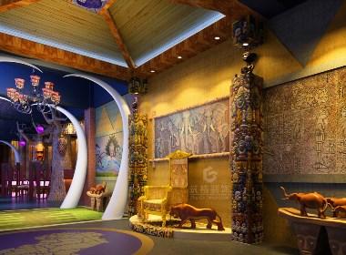 紫色大地酒吧丨贵阳电子音乐酒吧装修设计