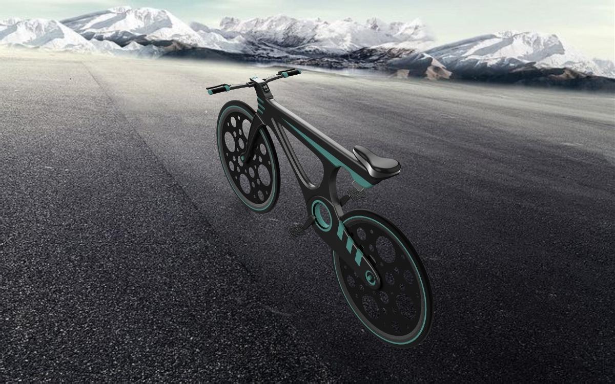 E-1  自行车