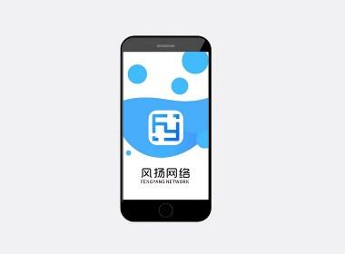 风扬网络科技Logo设计