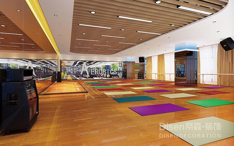 成都健身房设计-悦动