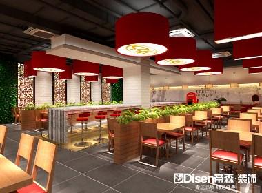【村食汇中式快餐】—成都快餐厅装修/成都快餐厅设计