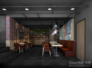 【大小碗时尚餐厅】—成都餐厅装修/成都餐厅设计/成都创意餐厅装修