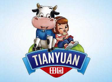 田园乳业——河北徐桂亮品牌设计