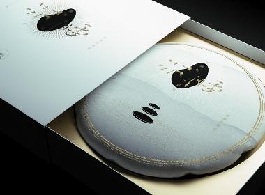 五马芙|新中式禅意千两茶茶饼黑茶茶叶包装设计| www.rufydesign.com