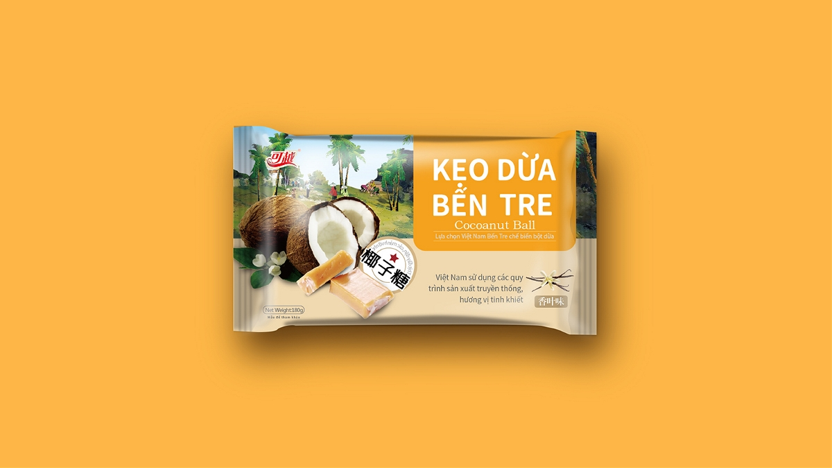 晨狮原创案例  丨  越南特产系列包装