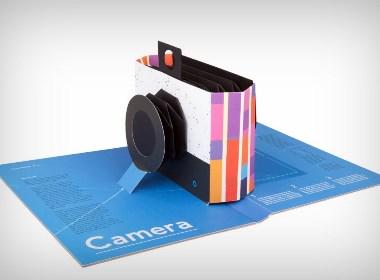 这本书实际上是一部相机!