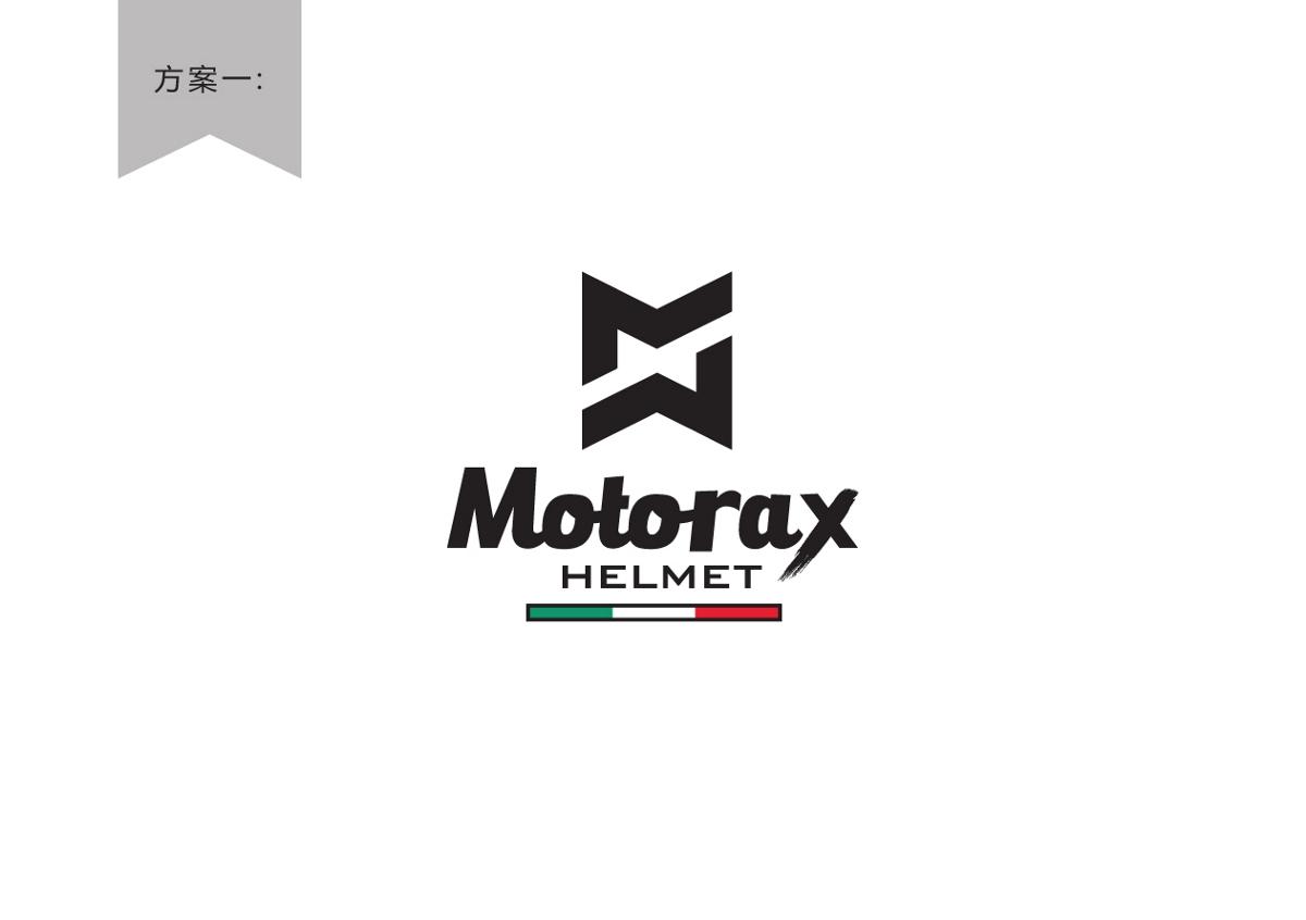 摩托头盔品牌LOGO设计简约时尚