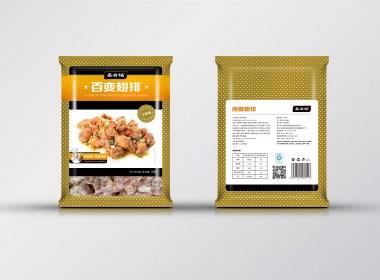 食品包装设计/冻品包装设计----盐城汤姆葛品牌包装全案策划&设计