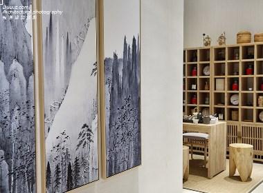 独尊建筑摄影:桃源里现代中式别墅专业摄影图