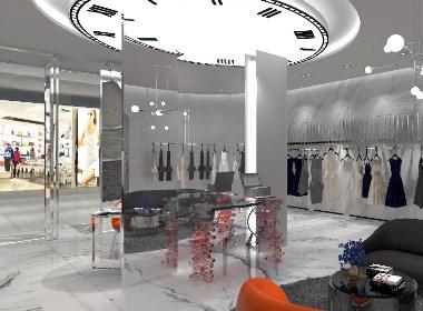 15小时女装专卖店设计|女装专卖店设计案例
