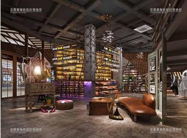 西宁乌托邦咖吧 | 花万里餐厅设计