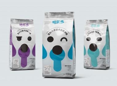河北宠物食品包装袋设计,西安厚启设计,一花一世界,一狗一表情