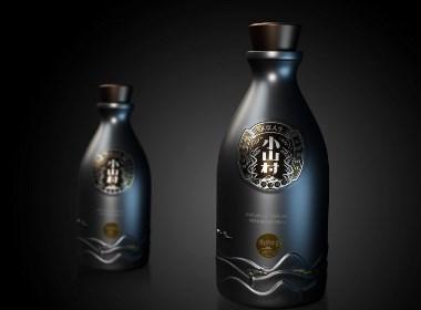 一道設計/包裝設計/酒包裝設計/酒瓶型設計/酒盒設計