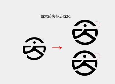 连锁药店标志改良设计