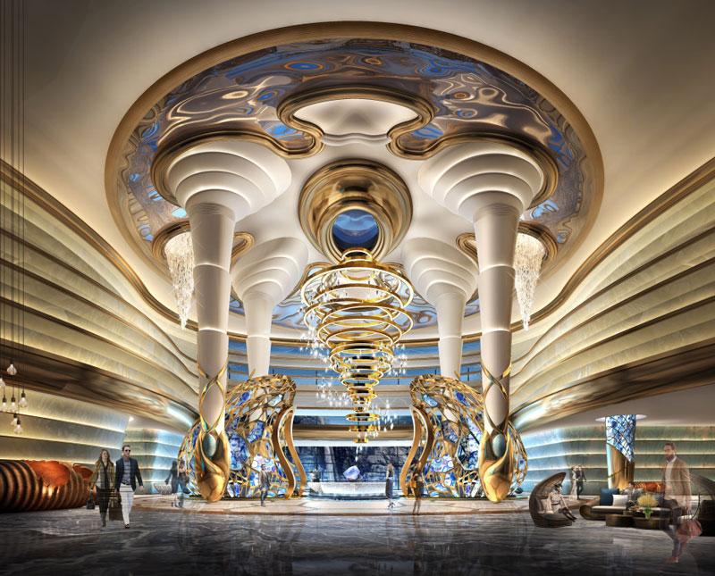 南粤设计集团作品-江苏南京蜂巢酒店设计