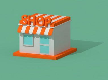 3D立体感卡通风便利店