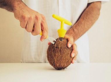 椰子开启器