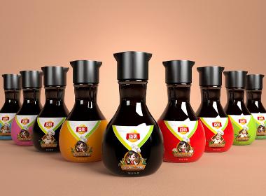 益彰调味品——徐桂亮品牌设计