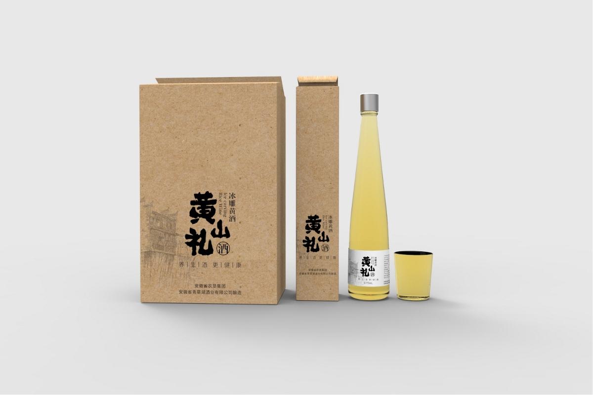 黄山礼 米酒包装设计
