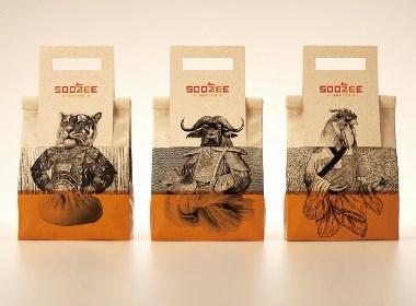 晨狮设计观点  丨  牛肉面汤包装系列设计