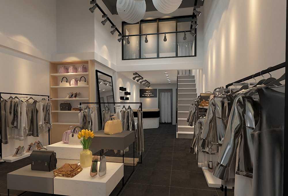 貴陽服裝店裝修設計公司 丨筑格裝飾丨服裝店鋪裝修燈具選購技巧