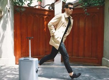 自动跟随行李箱