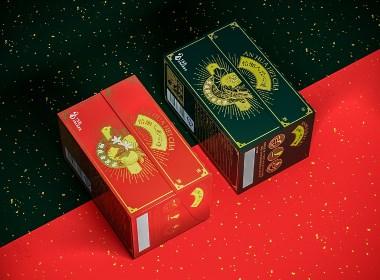 怡湘人|花茶黑茶茶砖茶叶logo包装设计|若非设计 www.rufydesign.com