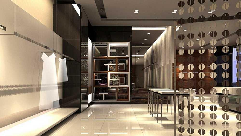 成都服装店装修设计设计包服务图片