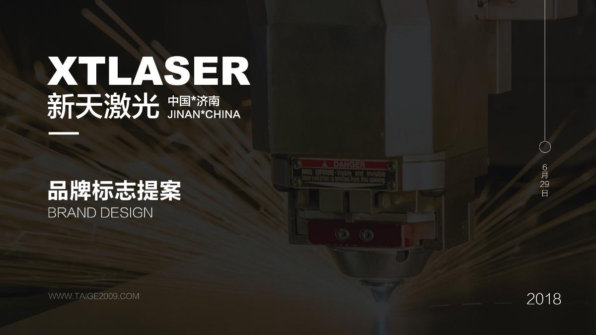 新天激光品牌标志提案-刘孝文