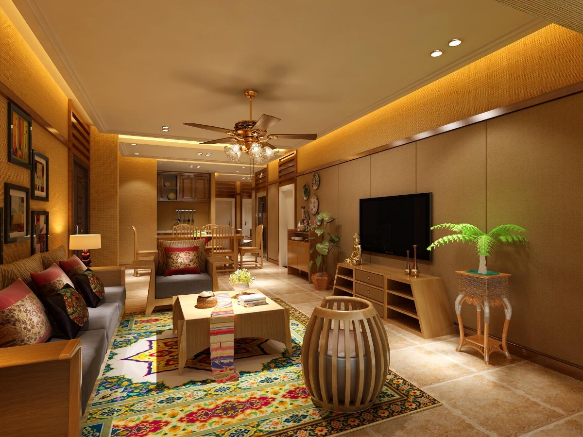 室内装修 东南亚异域风情