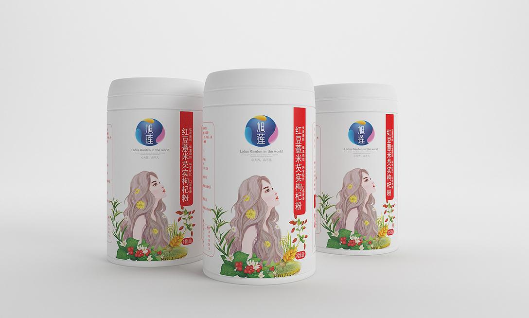 旭莲五谷膳食系列设计