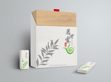 若甘霖茶叶礼盒设计