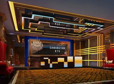 南粤设计集团作品-云南麻栗坡县大王岩酒店KTV