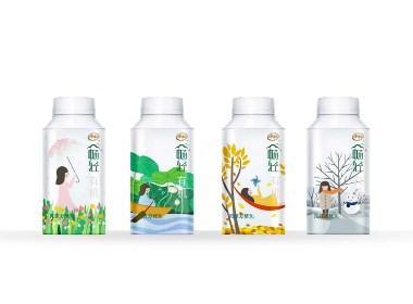 酸奶 包装设计