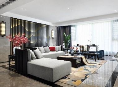 280㎡福建新中式住宅--欧模网设计圈