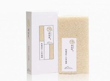 禾生禾大米包装设计