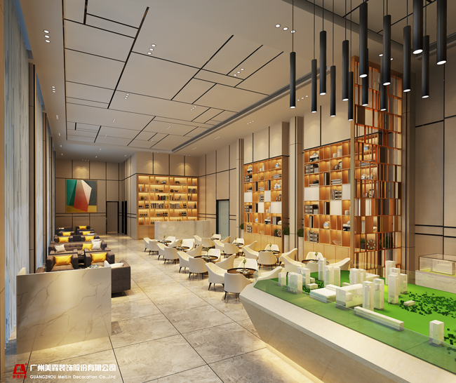 美霖设计-室内设计教育-字体空间设计在ai中如何培训发光立体大堂图片