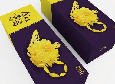 金丝黄菊花茶包装设计