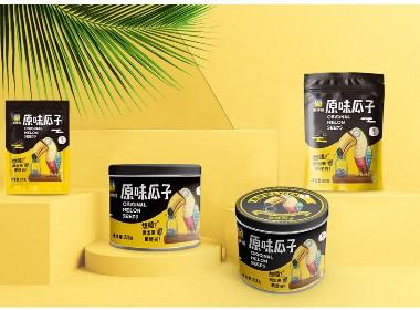 甲鼎品牌案例——来伊份瓜子系列创意包装